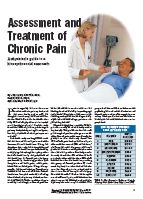 Assessment and Treatment of Chronic Pain